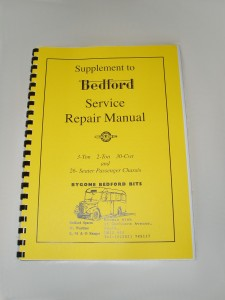Bedford Service Repair Manual